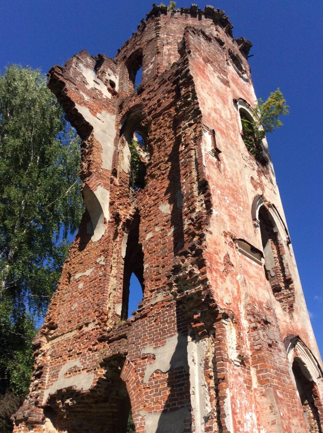 Башня Дибича. 2014 год.