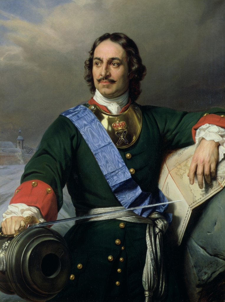 Петр Первый - главный архитектор русских побед в Северной войне