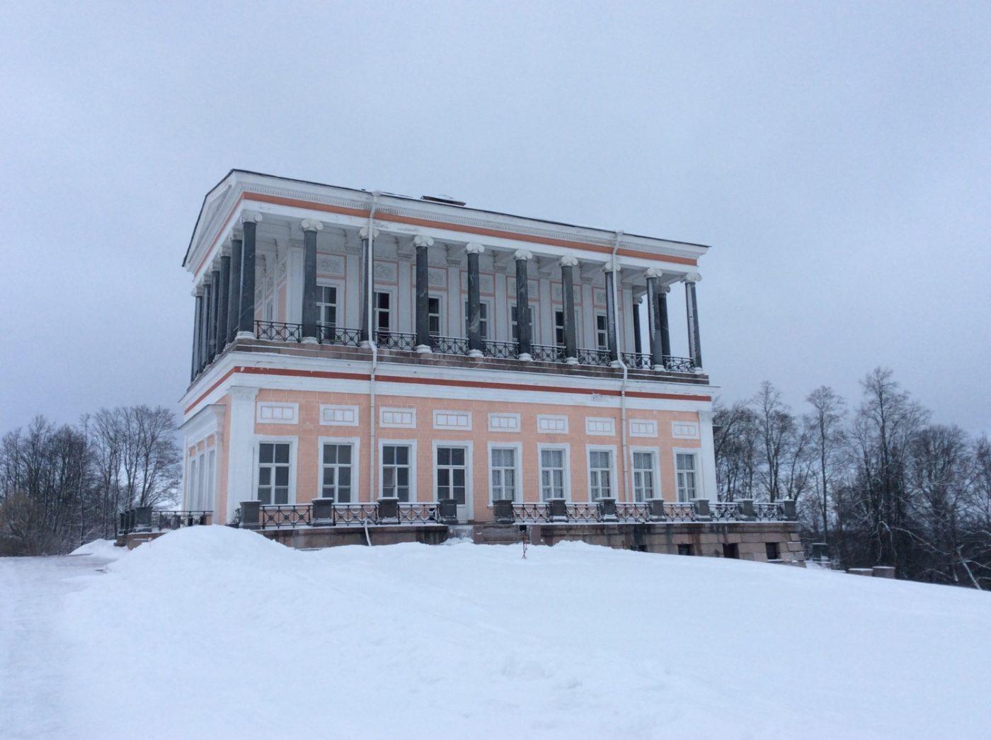 Бельведер — Античный дворец на Бабигонских высотах