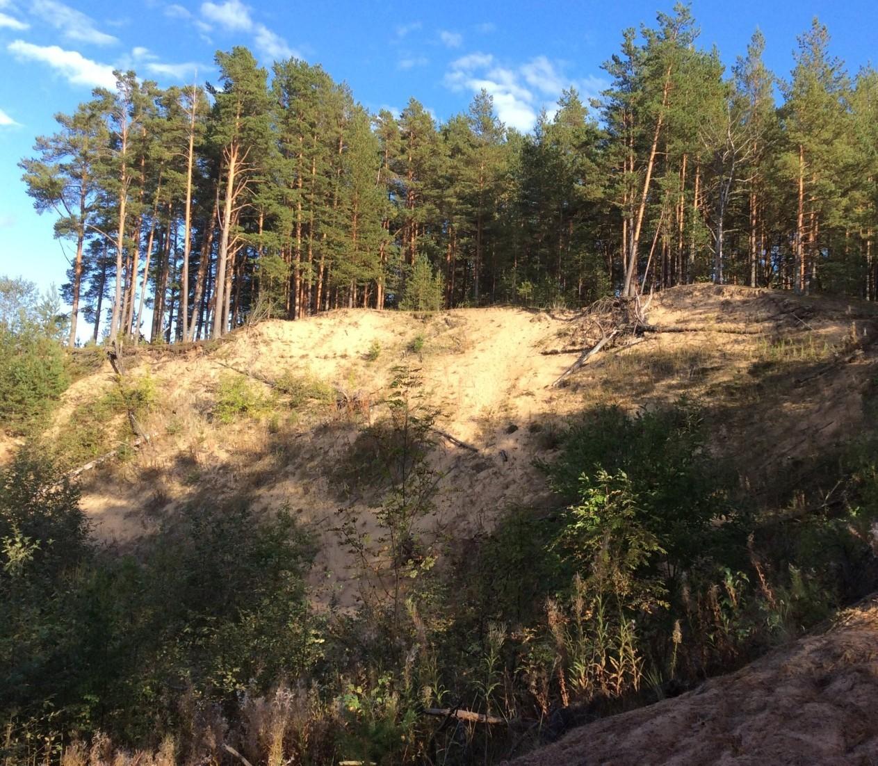 Чертова гора: на страже русской деревни