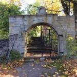 Вход на Ивангородское кладбище
