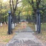 Ивангород. Вход на Воинское мемориальное кладбище