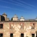 Остатки амбара в Ивангородской крепости