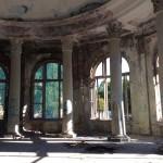 Здание газгольдера-столовой. Фрагмент интерьера