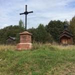 Кампергольм. Памятный крест и часовня Феодора Стратилата