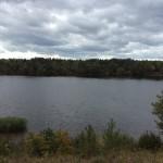 Федюнинский плацдарм. Вид на Нарву.