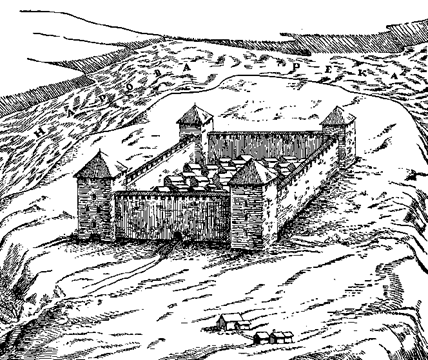 Ивангородская крепость — западный оплот Русского государства. Часть первая