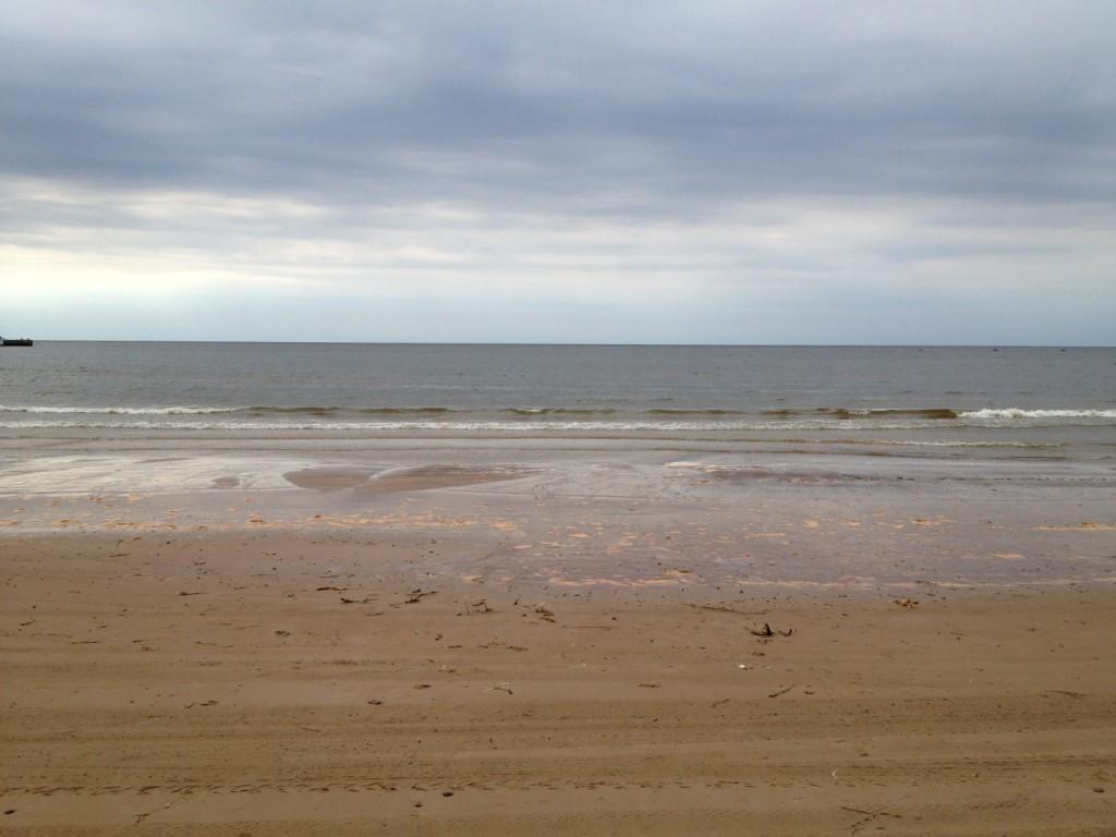 Белые пески пляжа Батарейной бухты