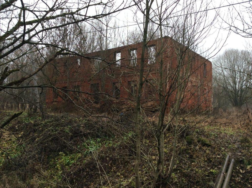 Служебный дом в усадьбе Гревова