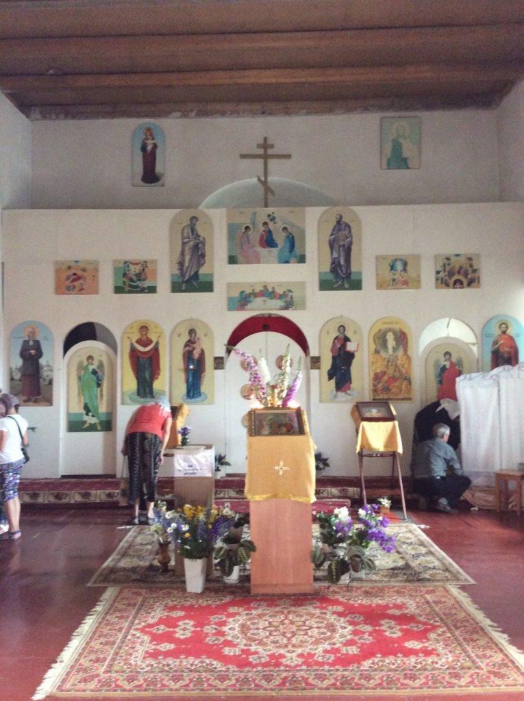Так выглядит современный интерьер Спасо-Преображенского собора
