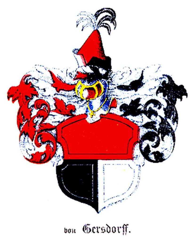 Герб рода Герсдорфов