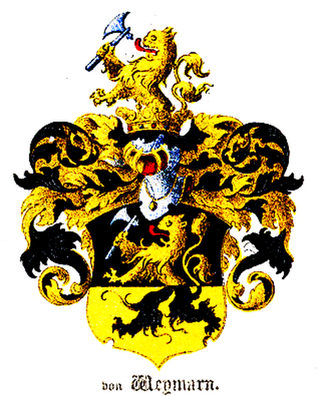 Герб рода Веймарнов