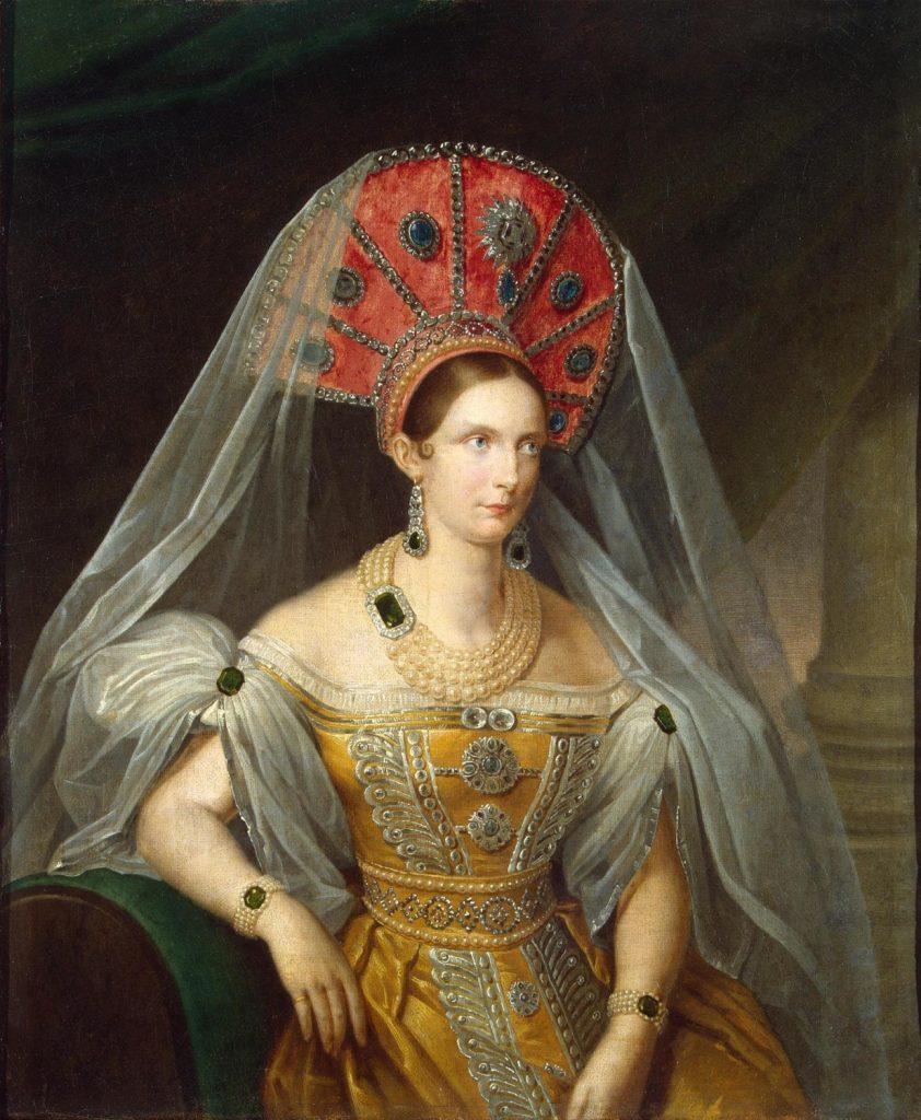 Императрица Александра Федоровна. Портрет А. Малюкова