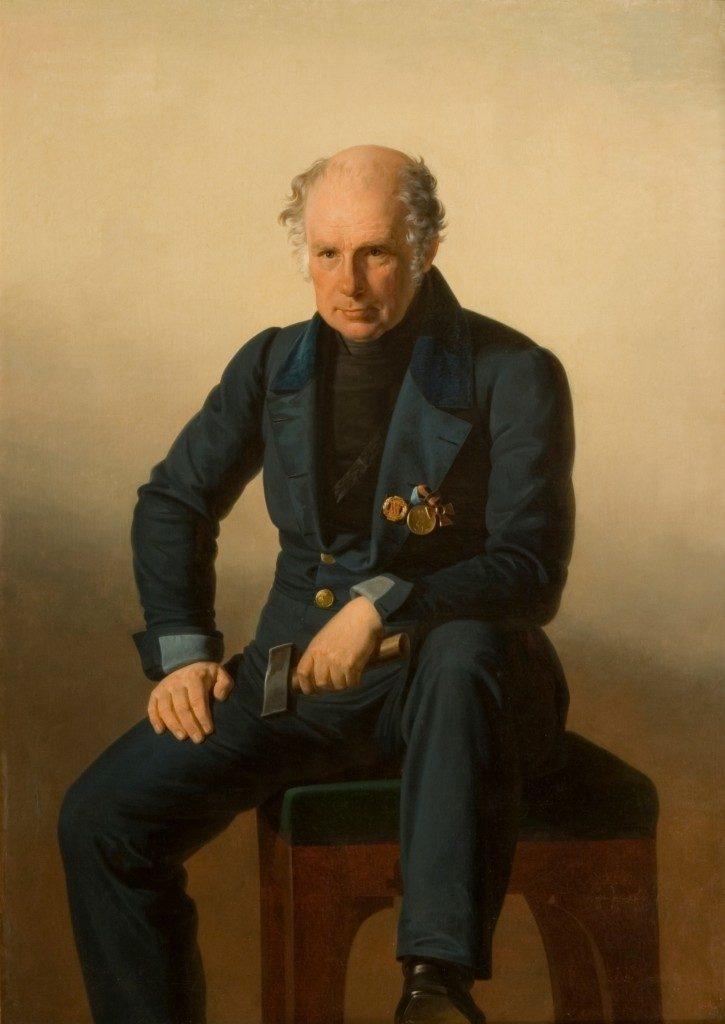 Василий Иванович Демут-Малиновский. Потрет неизвестного художника.