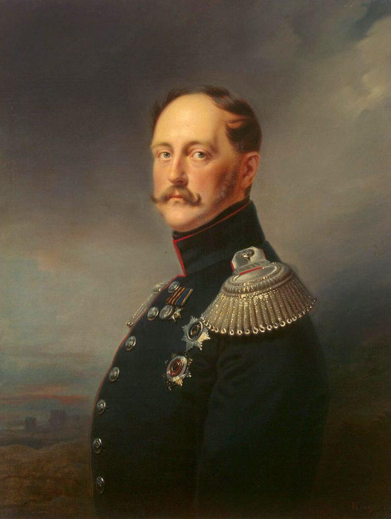 Николай Первый. Портрет Франца Крюгера.