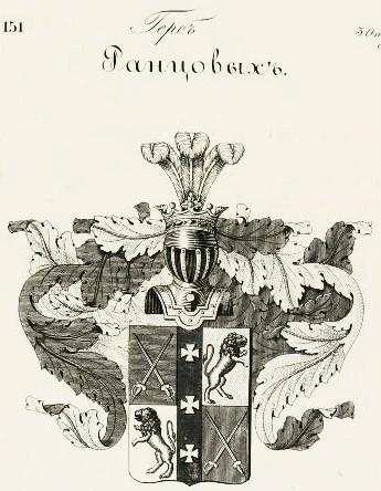 Герб рода Ранцовых
