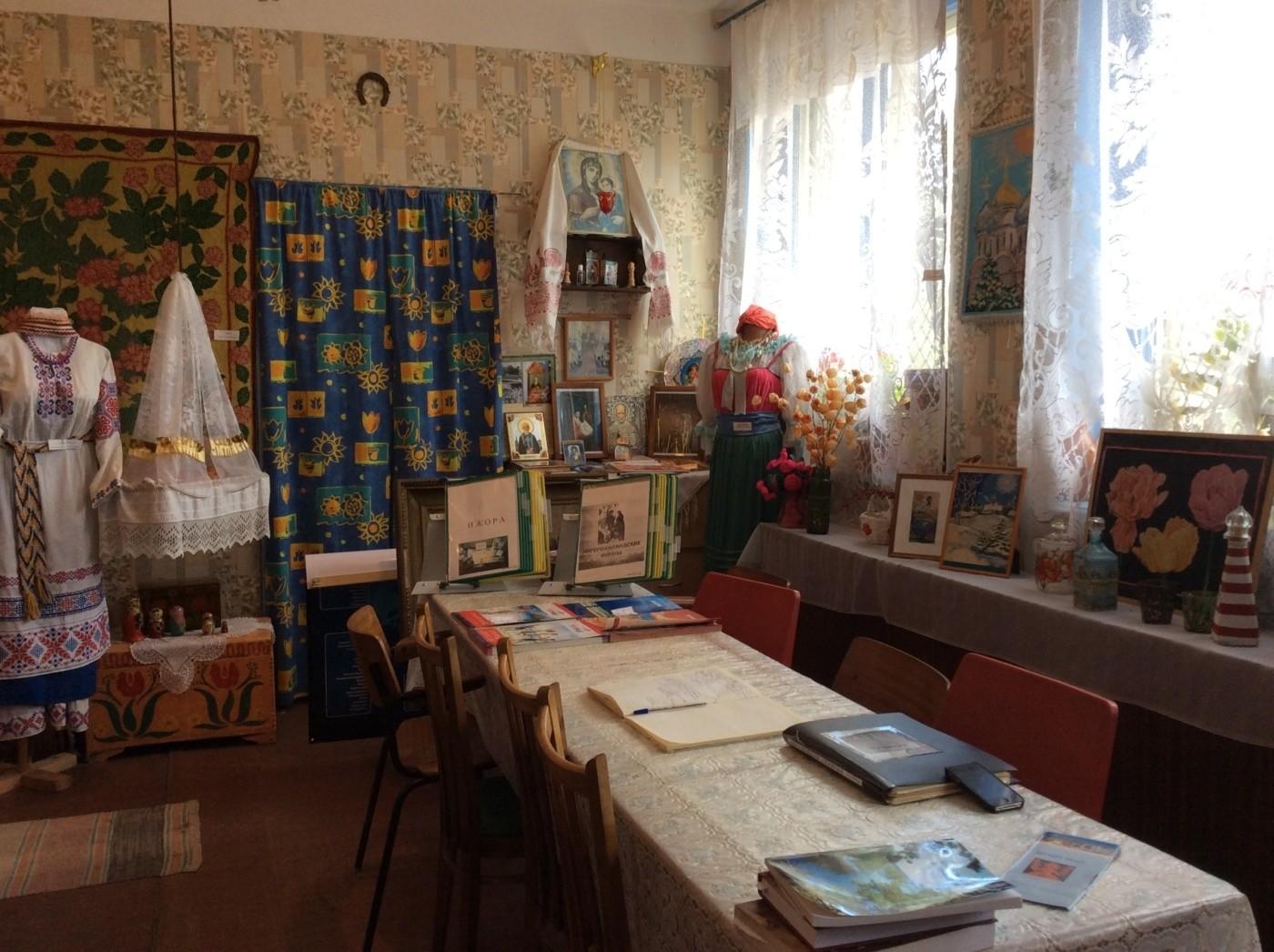 Большое Куземкино и окрестности. Куземкинский краеведческий Музей.