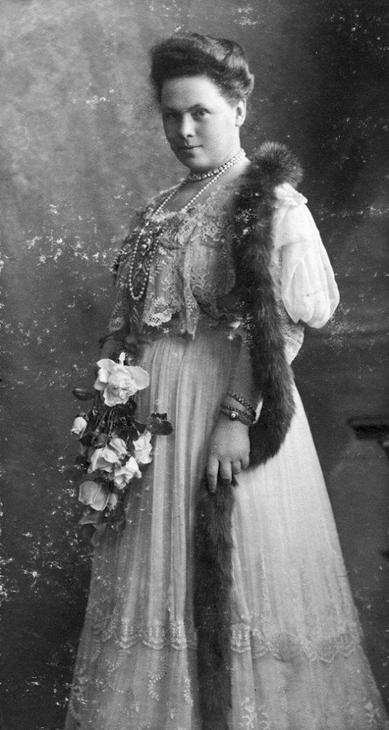 Наталья Федоровна Карлова, вдова герцога Георгия Мекленбург-Стрелицкого