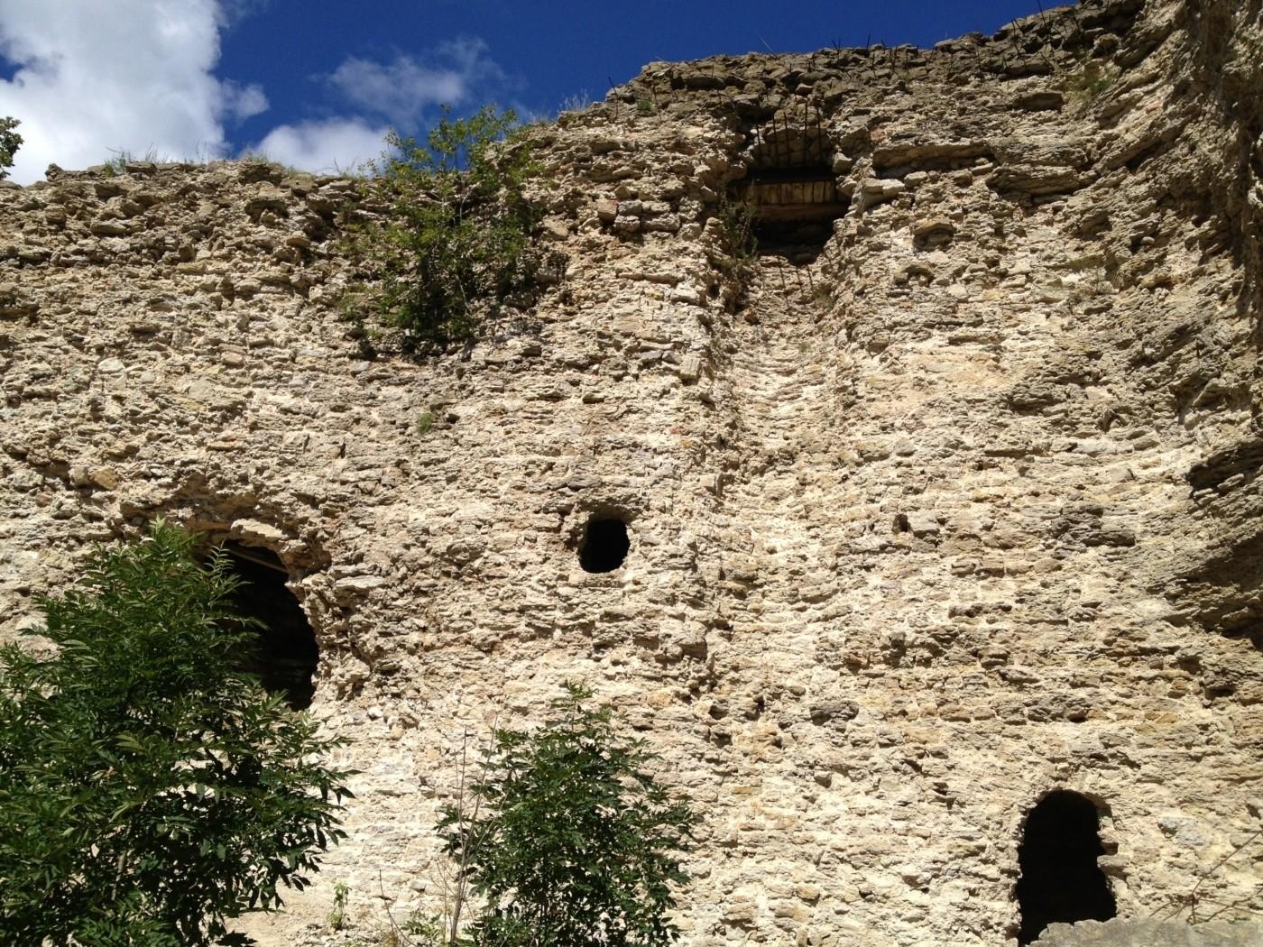 элементы древнерусская крепость схема