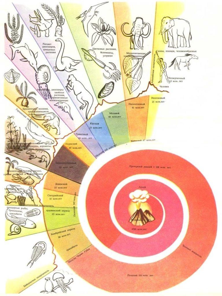 Геохронологическая схема.