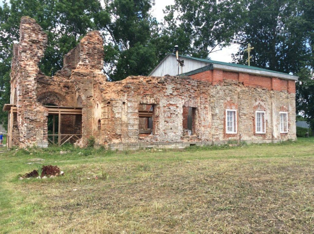 Спасо-Преображенский собор. Копорская крепость. Крепость в Копорье.