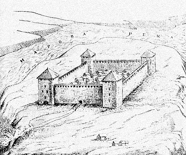Крепость в Ивангороде.