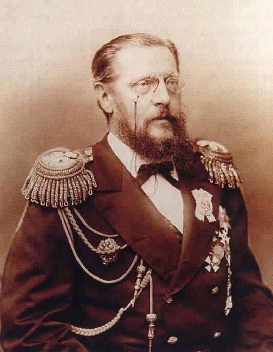 Великий князь Константин Николаевич. Младший брат императора Александра Второго. Генерал-адмирал.