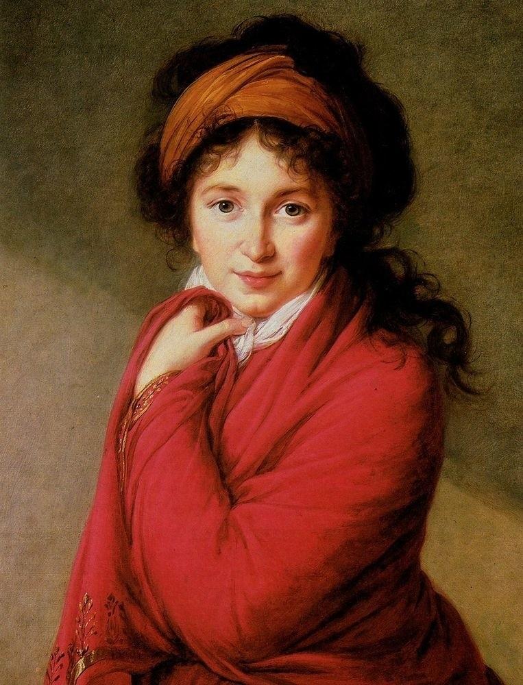 Портрет графини Варвары Головиной Виже-Лебрен Мари-Луиза-Элизабет. 1798