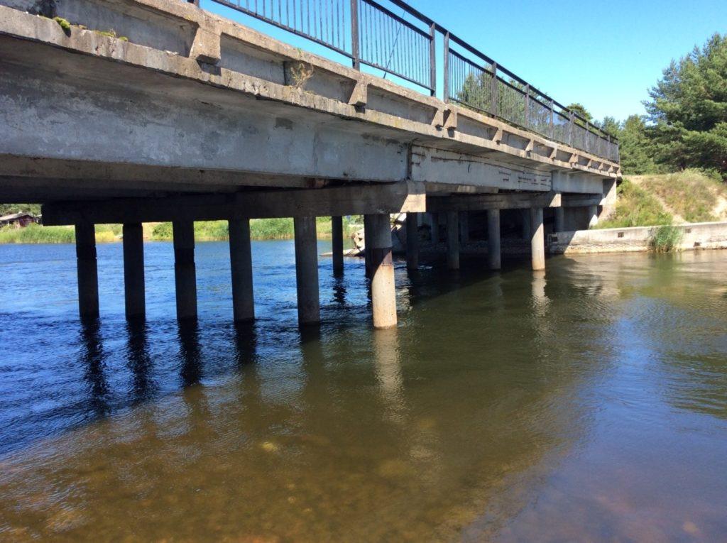 Мост через Липовскую протоку