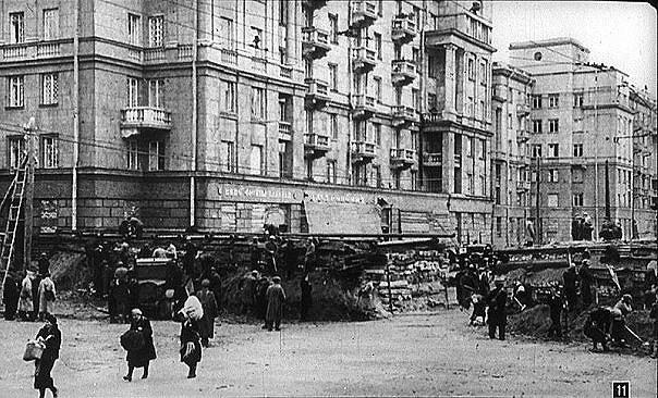 Баррикады в Автово.
