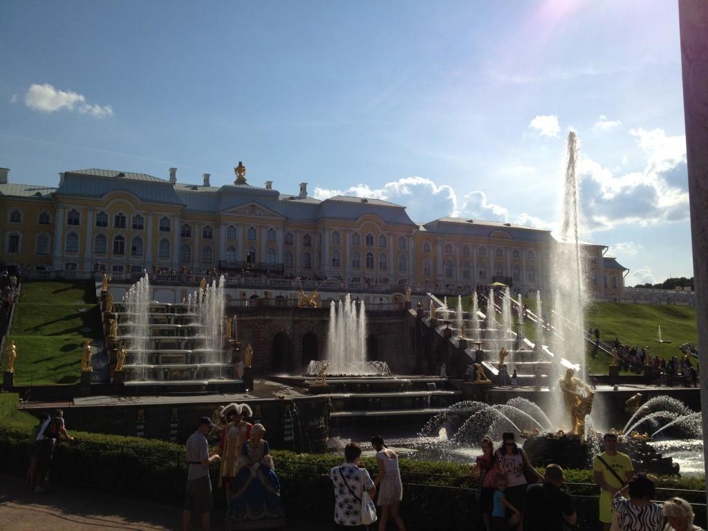 Литориновый уступ в Петергофе