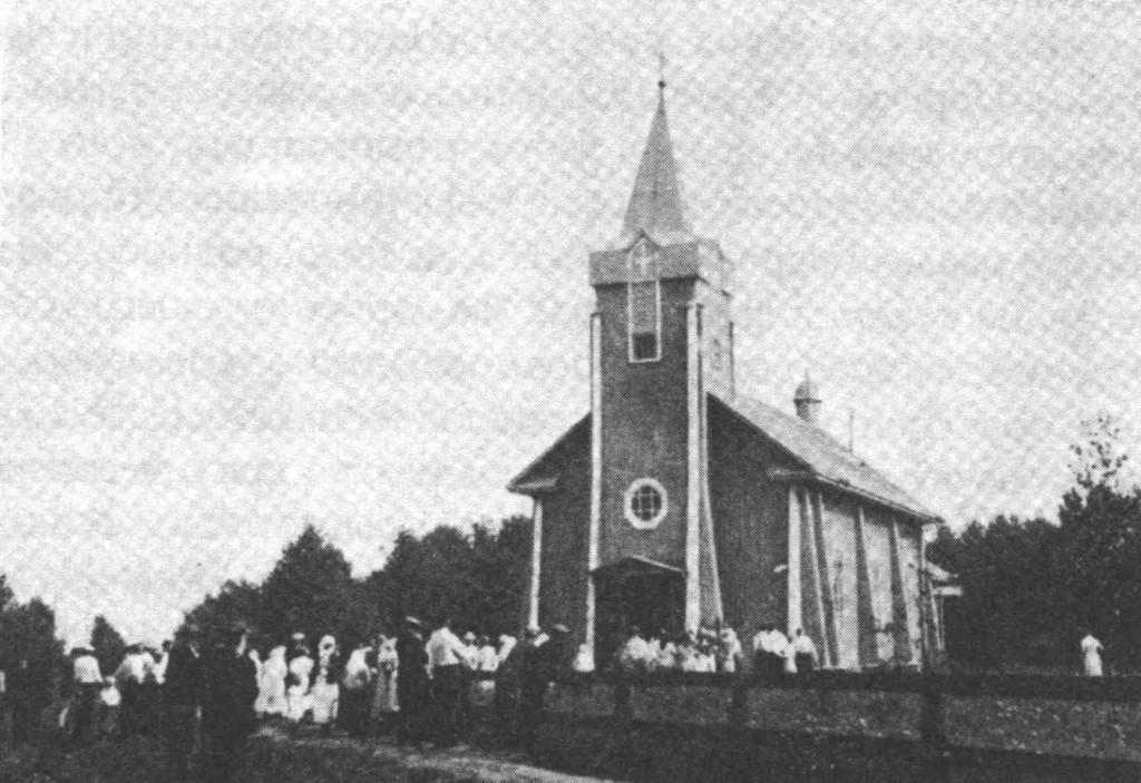 Калливере. Лютеранская кирха. 1943 г.