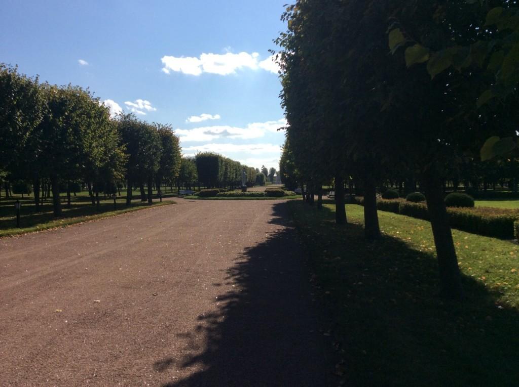 Стрельна. Константиновский парк.