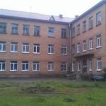 Парусинка. Здание больницы