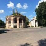 Парусинка. Пересечение улиц Пасторова и Текстильщиков