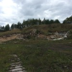Ивангород Заброшенная воинская часть близ Байковского карьера