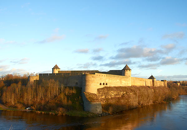 Панорама Ивангородской крепости