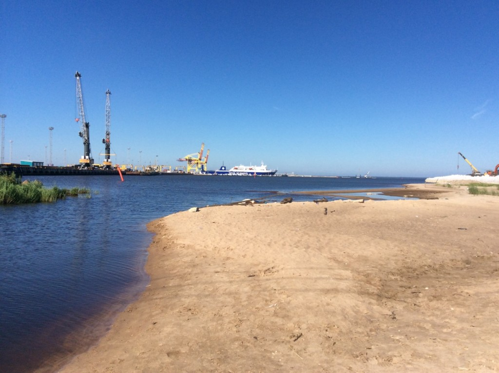 Юго-Восточная часть Лужской губы находится во власти усть-лужского морского порта