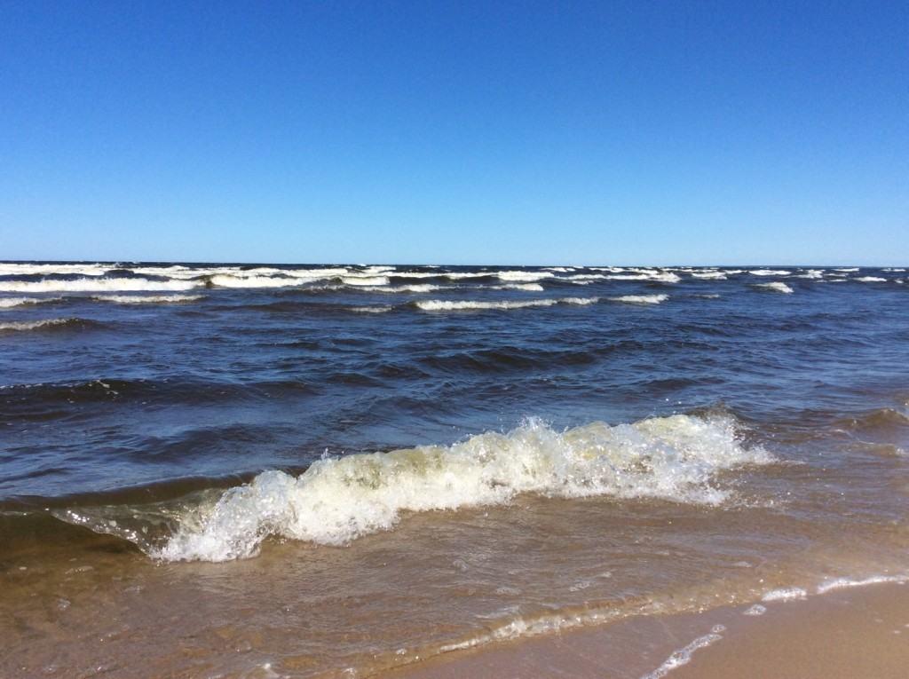 Полное ощущение моря...