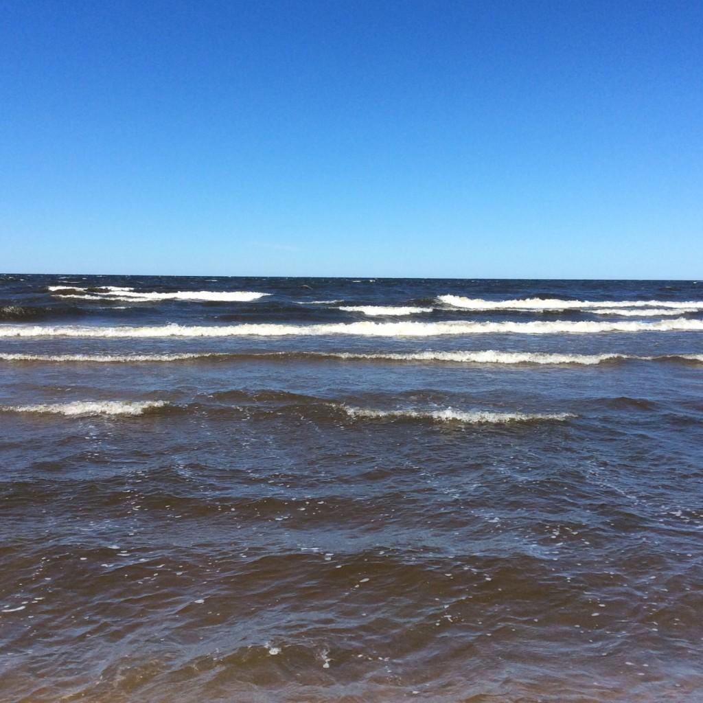 Воды Нарвского залива манят к себе любителей отдыха