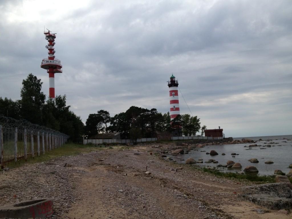 Шепелевский маяк на полуострове Горавалдай