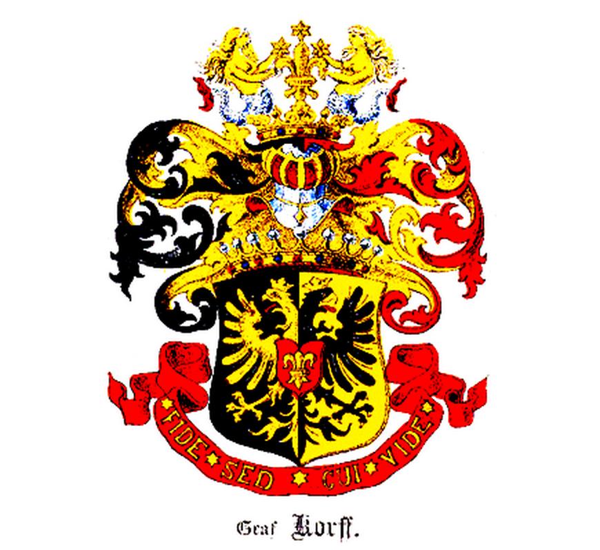 Герб рода Корфов