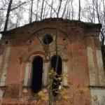 Церковь святого Николая Чудотворца. Кладбище в Копорье