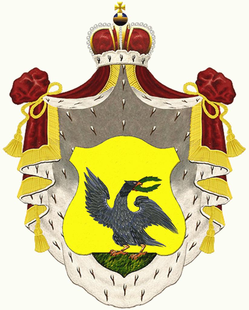 Дворянский герб рода Енгалычевых