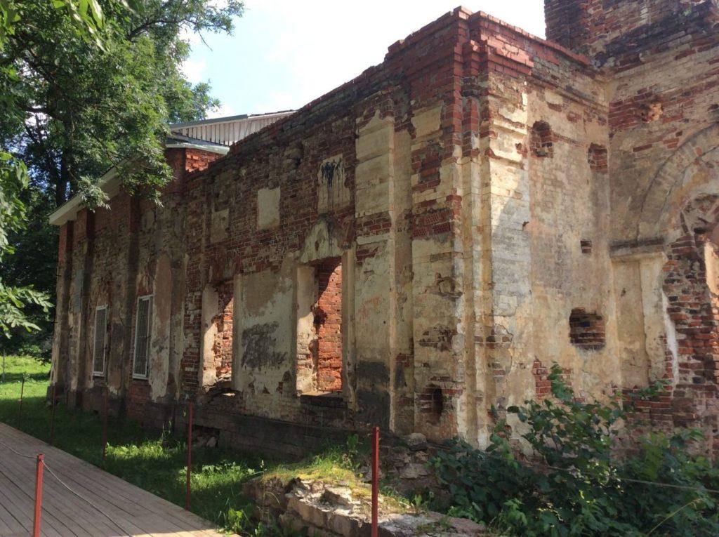 Крепость в Копорье. Спасо-Преображенский собор