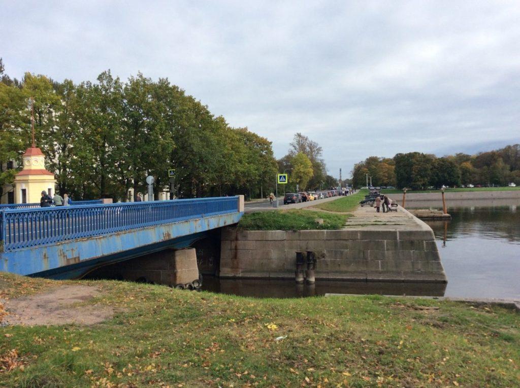 Кронштадт. Синий мост.