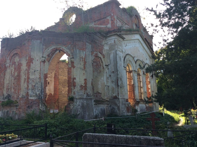 «И руины бывают величественны». Церковь Святого Николая Чудотворца в селе Русско-Высоцкое
