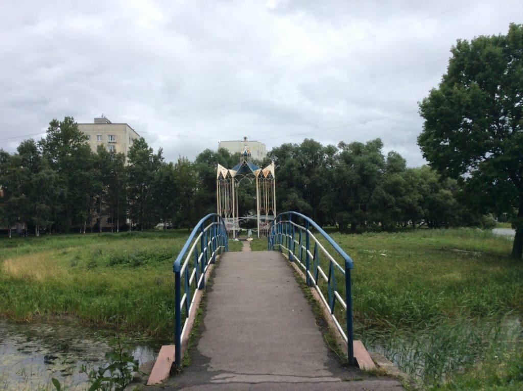 Усадьба Брюса. Петергофская дорога.