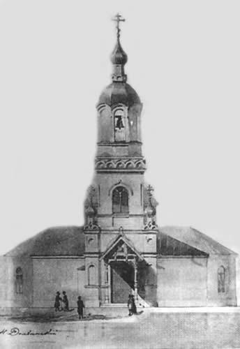 Троицкая церковь в Медушах