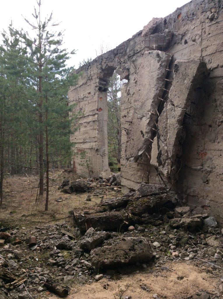 Воинская часить в районе Большого Куземкино